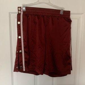 Fashion nova tear away shorts.